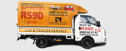 closed van for hire